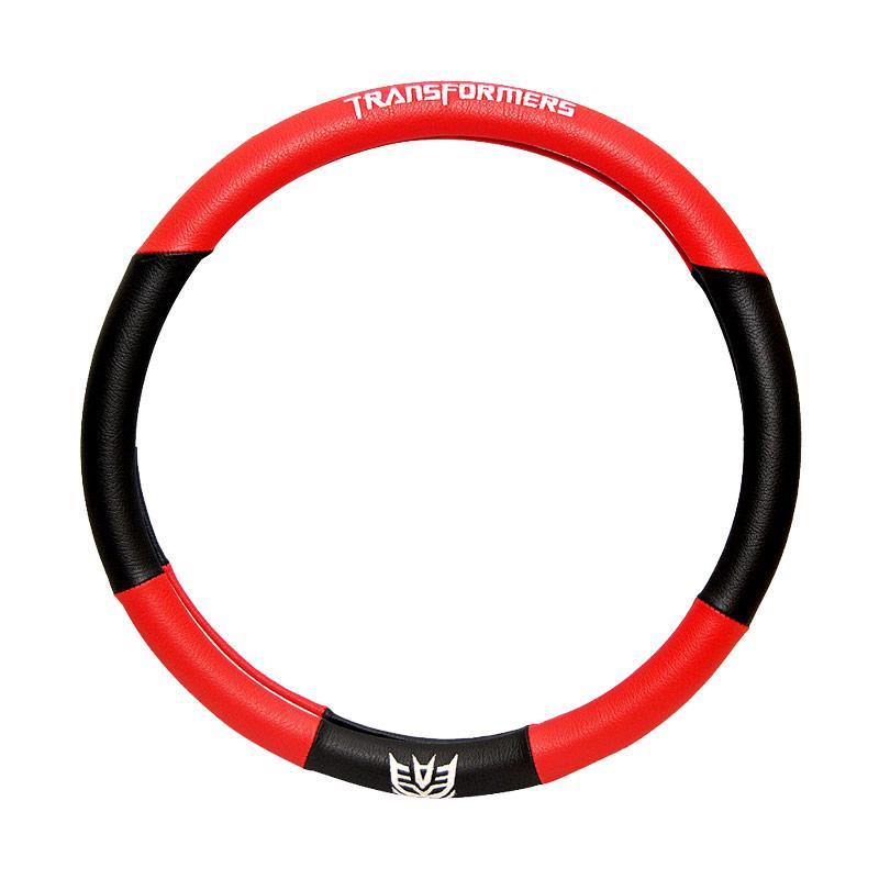 Autorace 104 Tranformers Cover Setir Mobil - Red