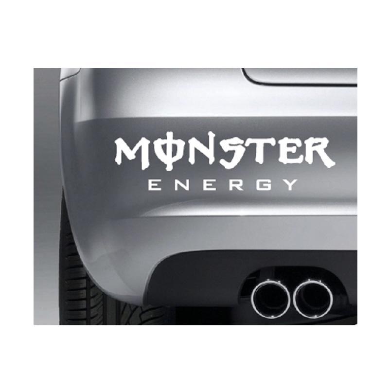 OEM Monster Body Bumper Car Decal Stiker Mobil