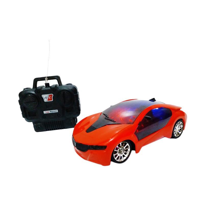 Golden Shop Fast Car Mainan Remote Control - Merah [1:20]
