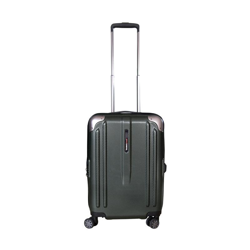 Traveler's Choice New London Hardcase Small Koper - Olive Green [21 Inch]