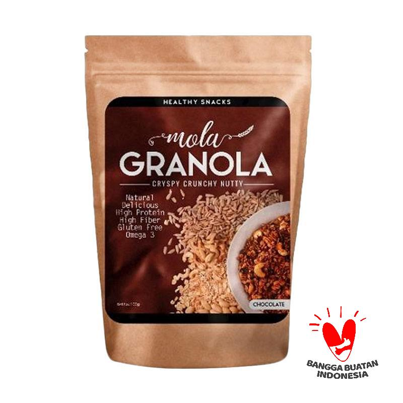 Mola Granola Healthy Snacks Rasa Coklat