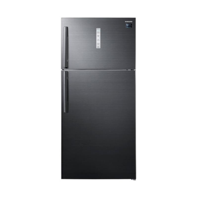 Samsung RT62K7011BS/SE Twin Cooling Plus Refrigerator Kulkas 2 Pintu [620 L/ Medan]