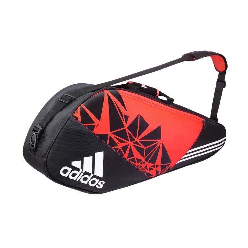 adidas Wutch P7 4 Tas Racket Badminton - Black Orange