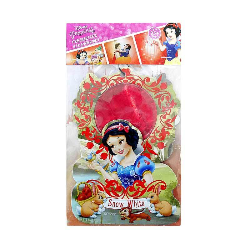 Disney SW01 Princess Snow White Strawberry Hanging Air Freshener Parfum Mobil dan Ruangan