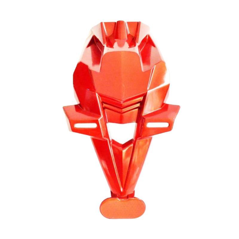 Raja Motor Tempat Dudukan Plat Nomor with New Reflektor for Kawasaki Ninja 250 Injeksi ABS - Merah [TNO4010]
