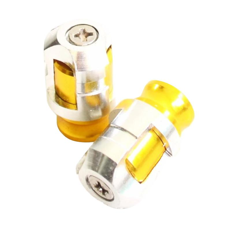 Raja Motor Nitex Tutup Pentil Motor - Silver Gold [TUP9022]