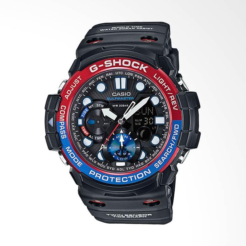 CASIO G-Shock Gulfmaster Jam Tangan Pria - Black GN-1000-1ADR