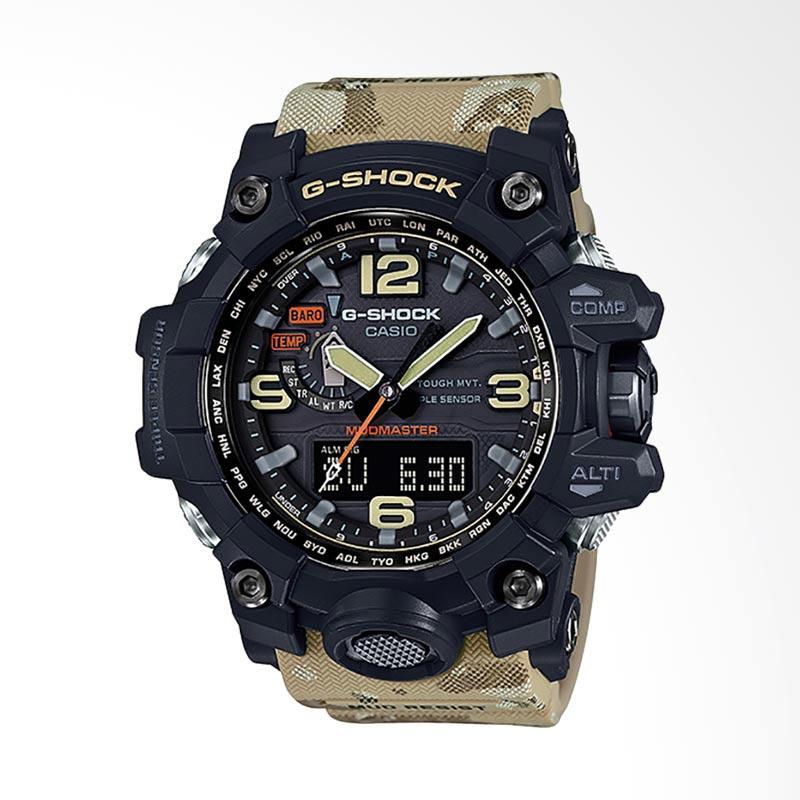 CASIO G-Shock MUDMASTER Jam Tangan Pria - Camouflage GWG-1000DC-1A5DR