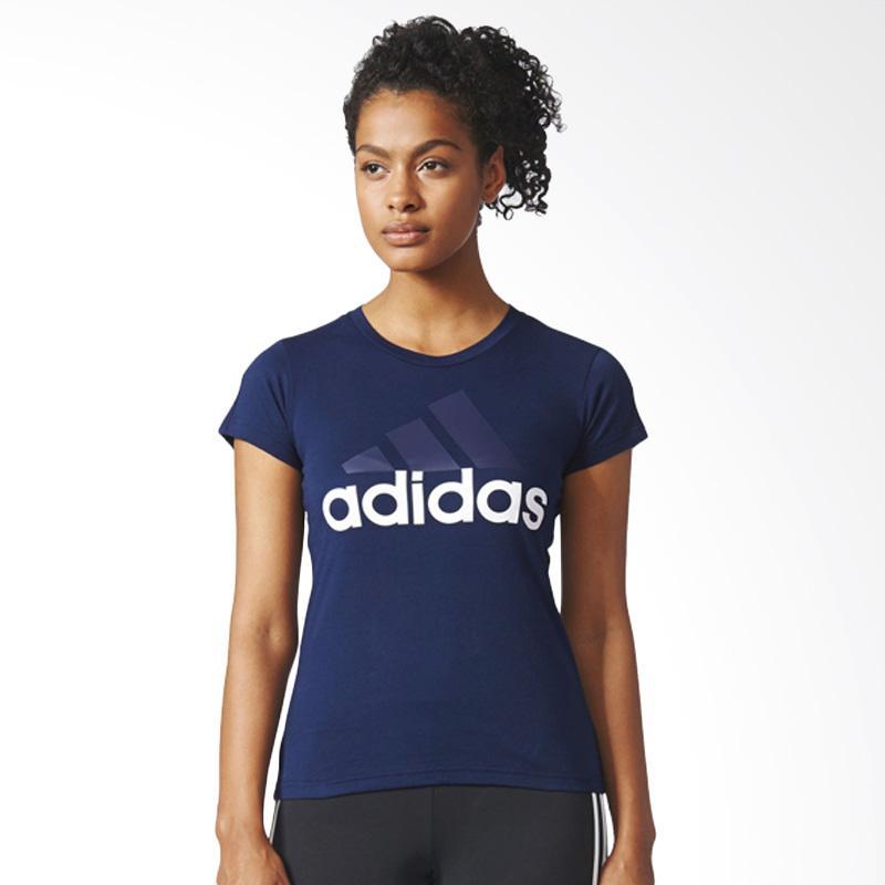 adidas Essnetials Linear Women's Tee Kaos Olahraga Wanita BR2559