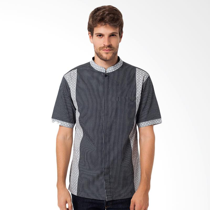 A&D Mens Short Sleeve Koko Casual - Black MS 716A