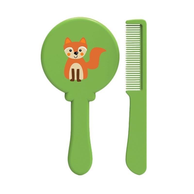 BabySafe DL1014  Brush and Comb Set Perlengkapan Bayi - Green
