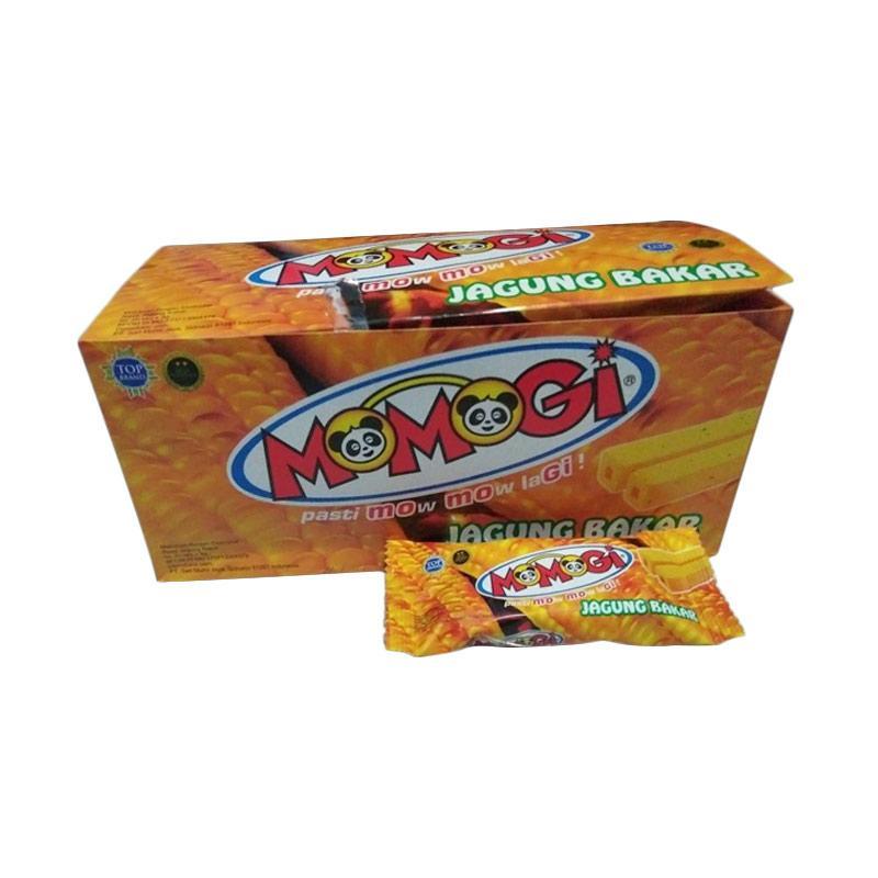 Momogi Jagung Bakar Makanan Kering [1 Box/20 Pcs]