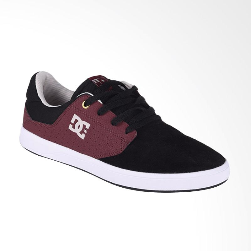 harga DC Plaza TC S M Sepatu Sneaker Pria - Black Oxblood ADYS100319-BO2 Blibli.com