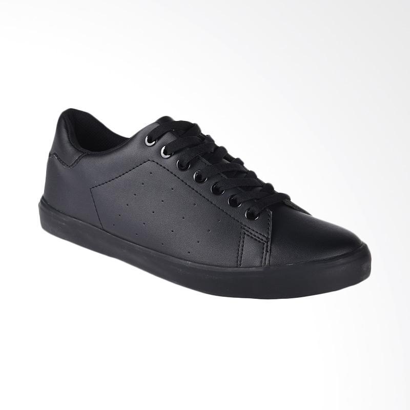Airwalk Jeko Mono Sepatu Pria - Black AIW17PV0269S