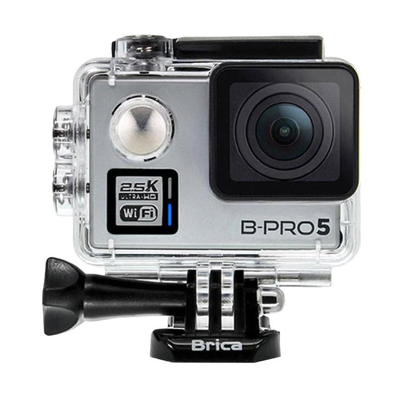 Brica B-PRO 5 Alpha Plus Version 2 AP2 Combo Deluxe A Action Camera - Silver