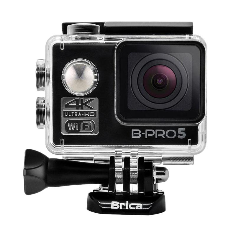 Brica B-PRO 5 Alpha Edition Mark II AE2 Combo Extreme Paket Action Camera - Hitam