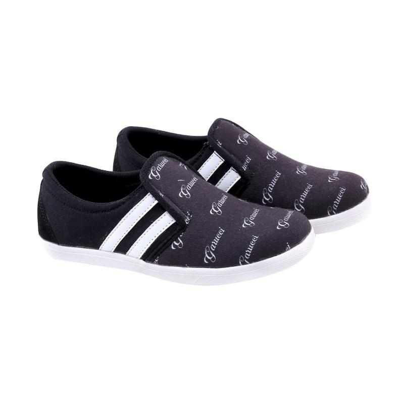 Garucci GDA 9101 Sepatu Kasual Anak Laki-Laki - Black