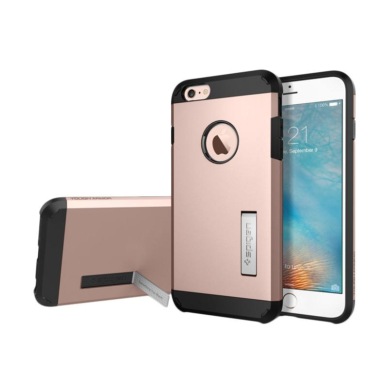 Spigen Tough Armor Casing for iPhone 6S Plus 2015 - Rose Gold
