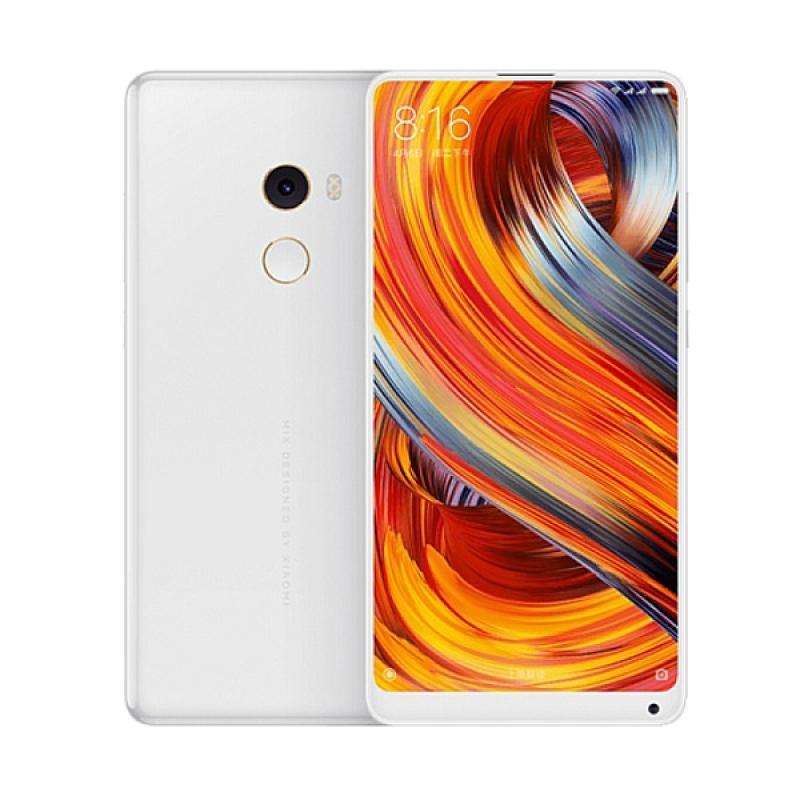 Harga Xiaomi Mi Mix 2 Smartphone – White [128GB/RAM 8GB] Garansi 1thn