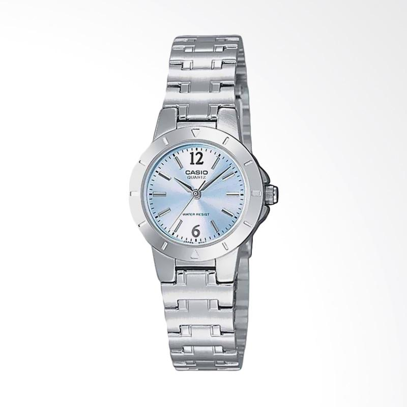 Casio LTP-1177A-2ADF Standard Quartz Ladies Watch Stainless Steel Jam Tangan Wanita