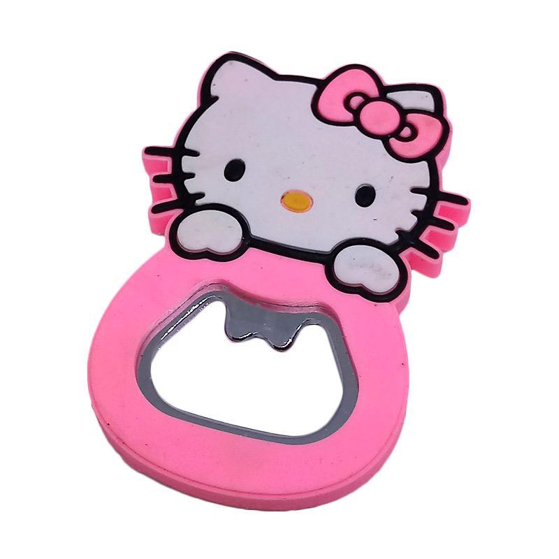 Hello Kitty Cute HK Magnet Pembuka Botol - Pink