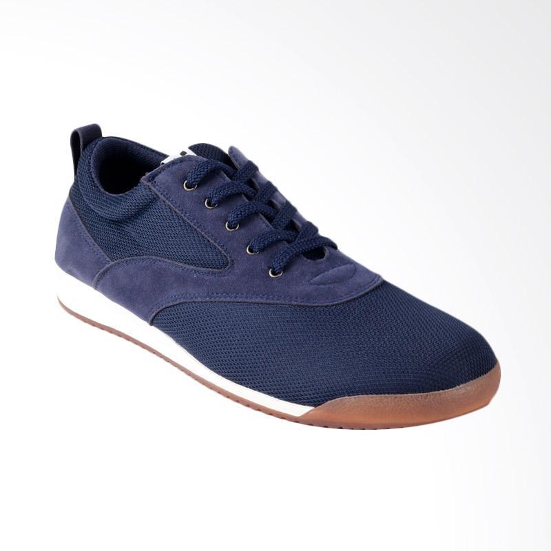 Navara Paxton Sneakers Sepatu Pria - Blue