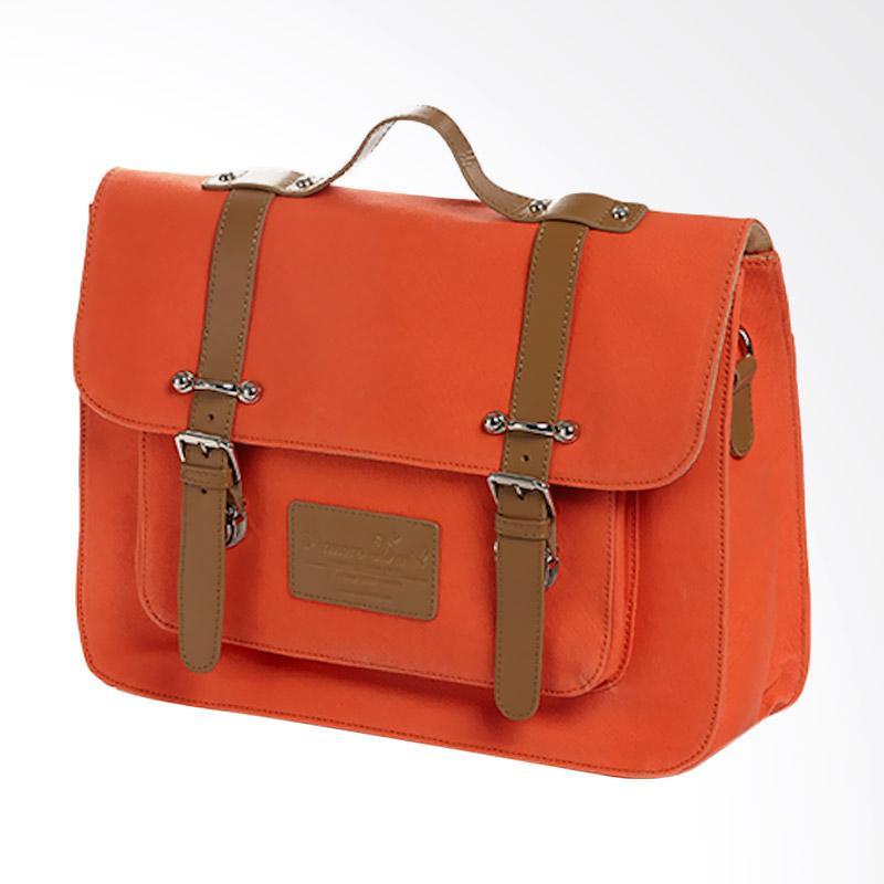 Amore Daniel Victor - Vintage Briefcase - Orange