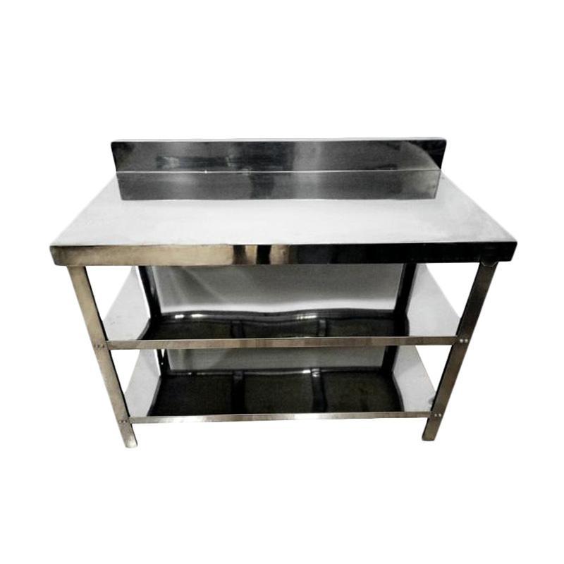 Metalco Mt 3 Stainless Steel Meja Dapur Or Kompor Rak