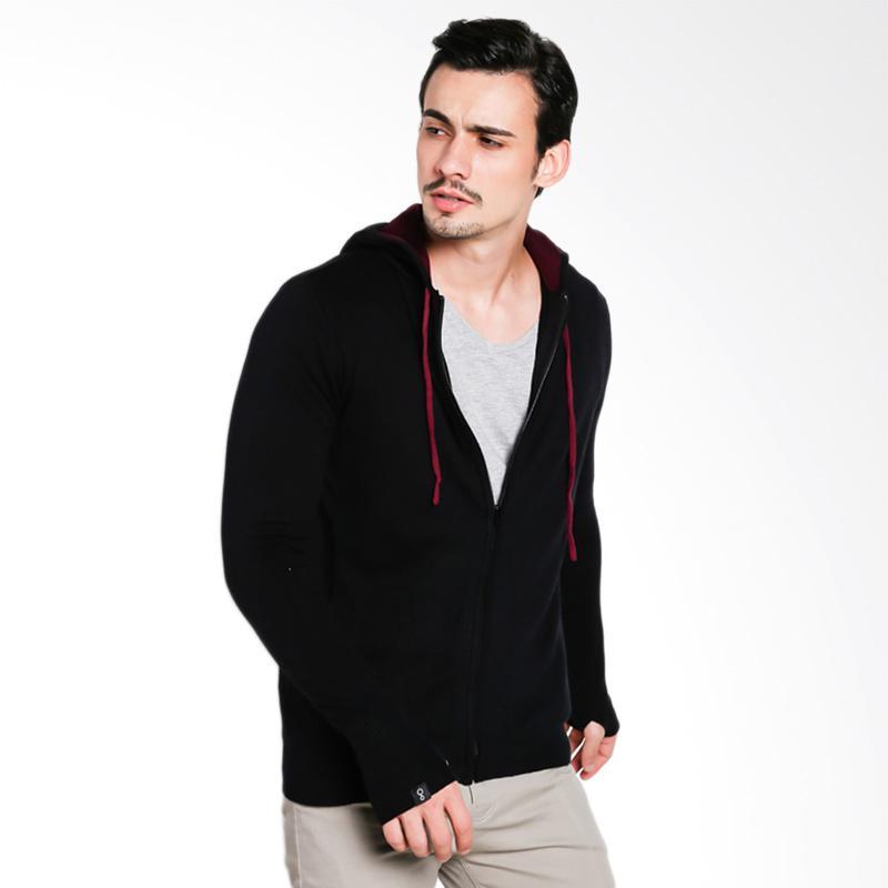 Greenlight Men Knit 3810 Sweater Pria - Black