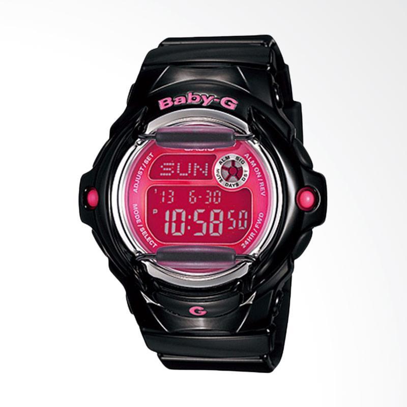 Casio Baby-G BG-169R-1BDR Jam Tangan Wanita - Black Red