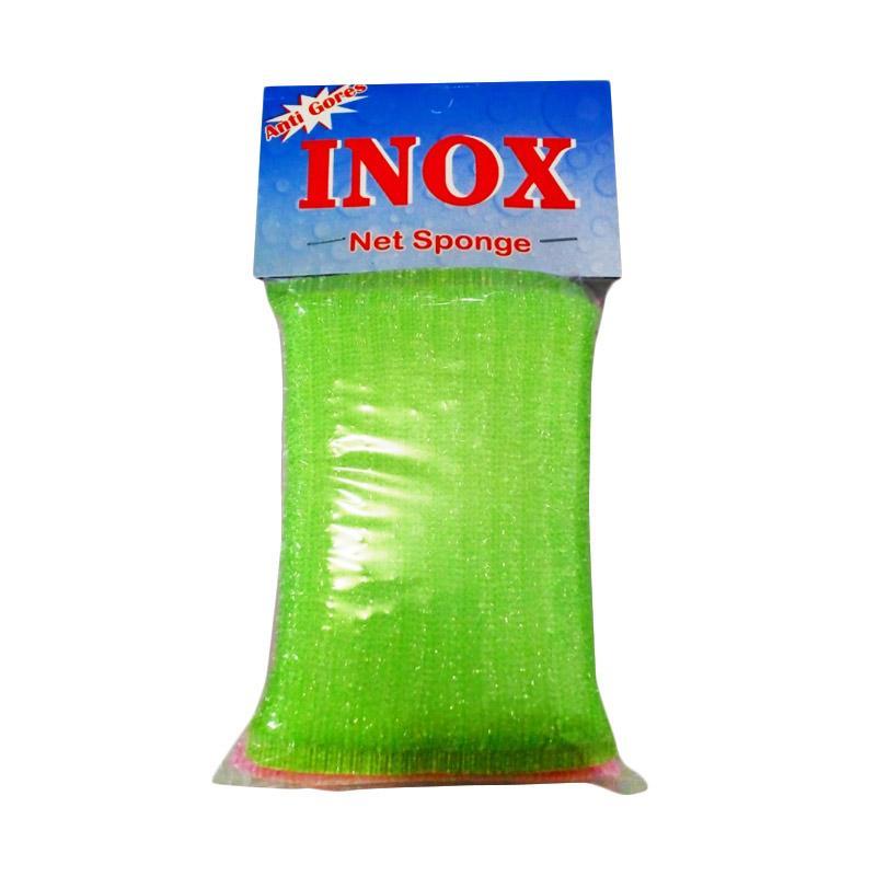 INOX Net Sponge - Pink Green