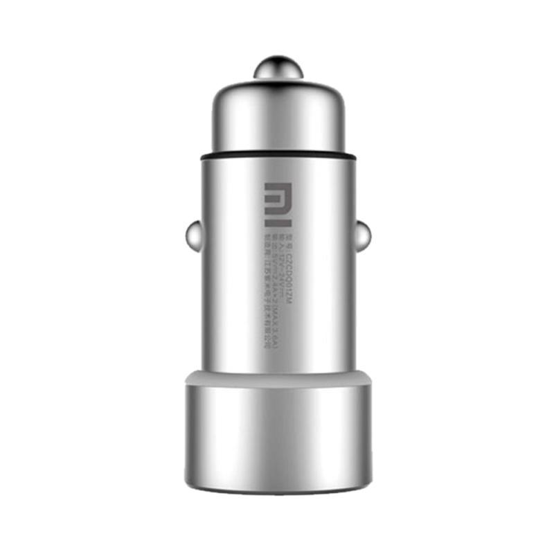 Xiaomi Mi USB Car Charger - Silver [Garansi Resmi]