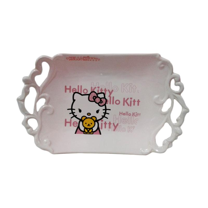 Hello Kitty HK and The Bear-001 Piring Pesta - Multicolor