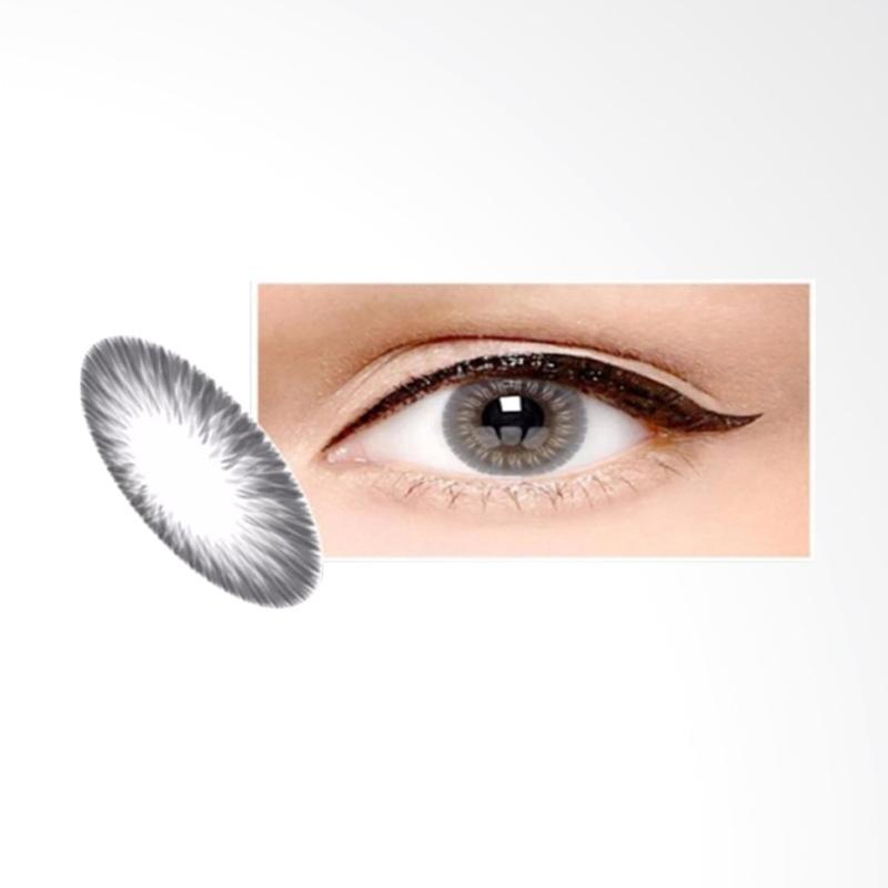 Ice Exoticon X2 Ice Softlens - Silver Ash Grey