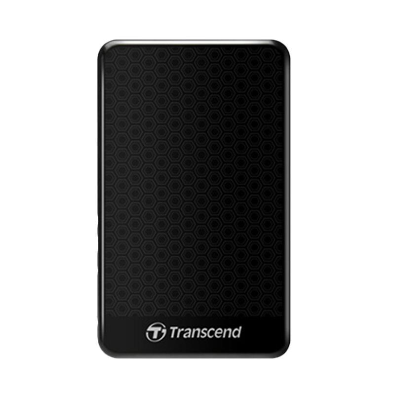 Transcend Storejet 25A3 Harddisk Eksternal Hitam 1TB 2 5 Inch USB3 0
