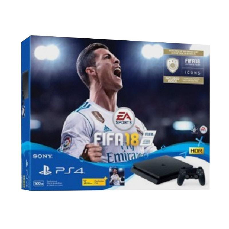 SONY PlayStation 4 Slim Bundle FIFA 18-500GB]