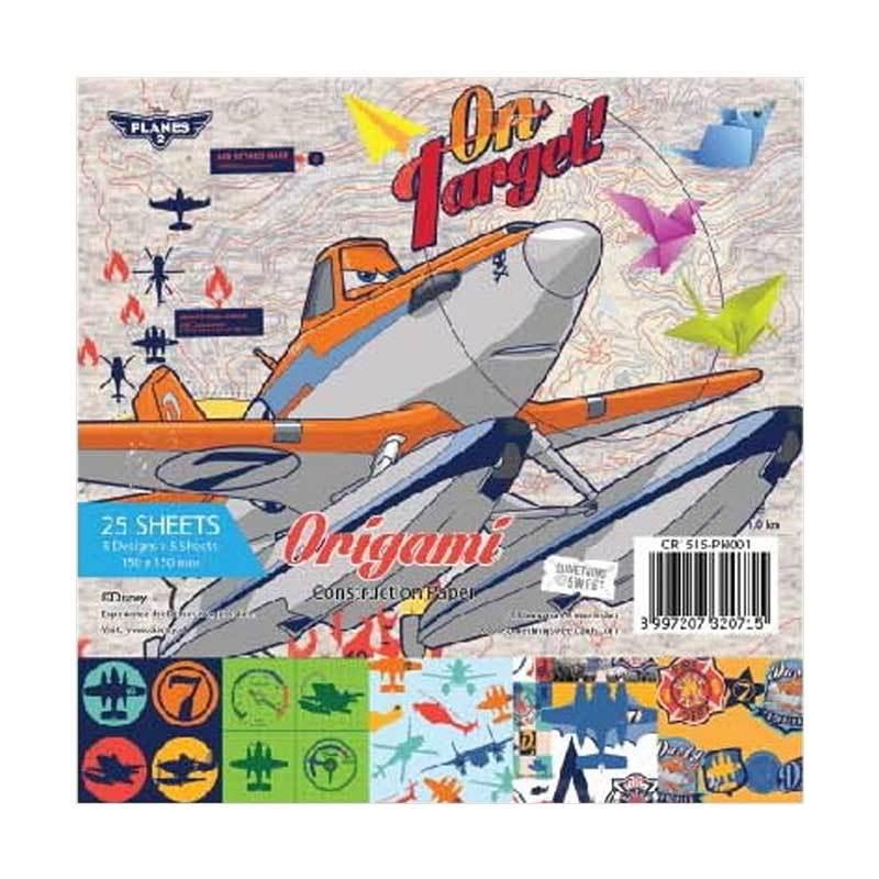 Something Sweet Disney Planes 2 On Target! OR 1515-PN001 Kertas Origami