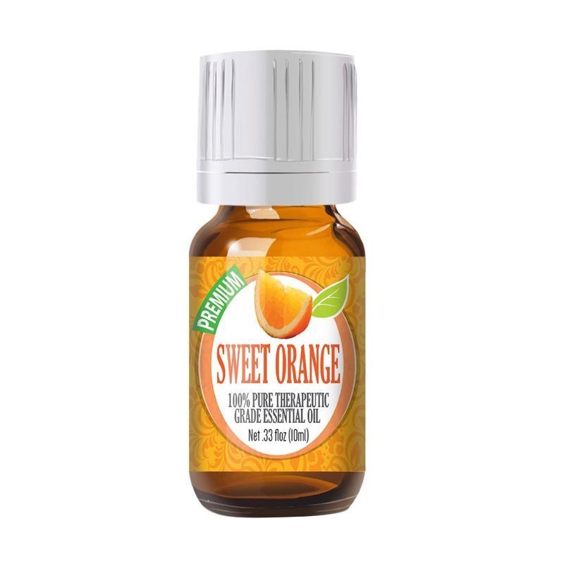 Healing Solutions Sweet Orange Essential Oil [10 mL]