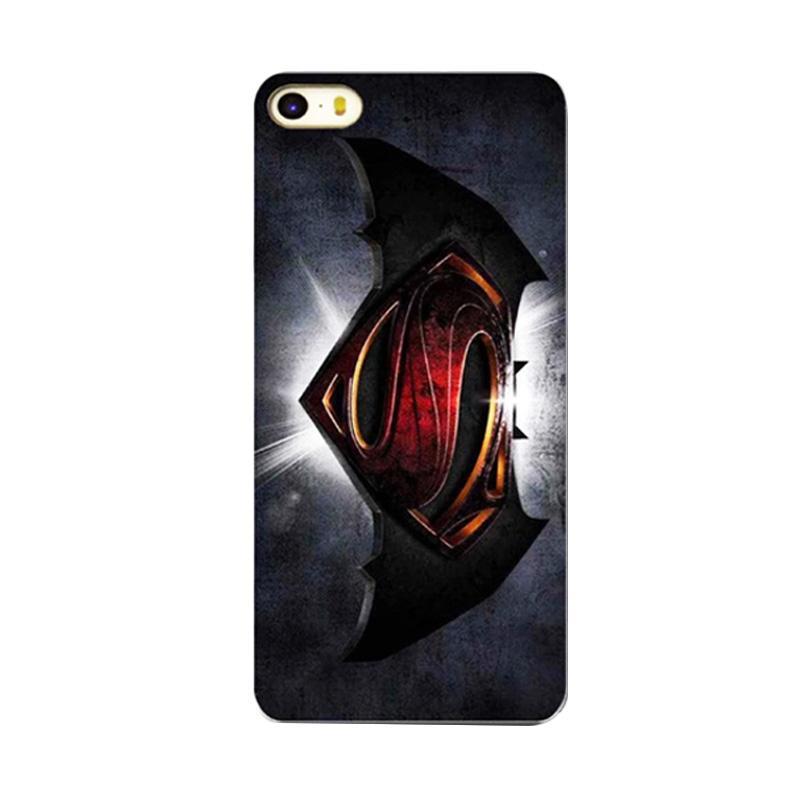 QCF Motif Super Hero Batman Hardcase Backcase Casing for Apple iPhone 4G or 4S - Black