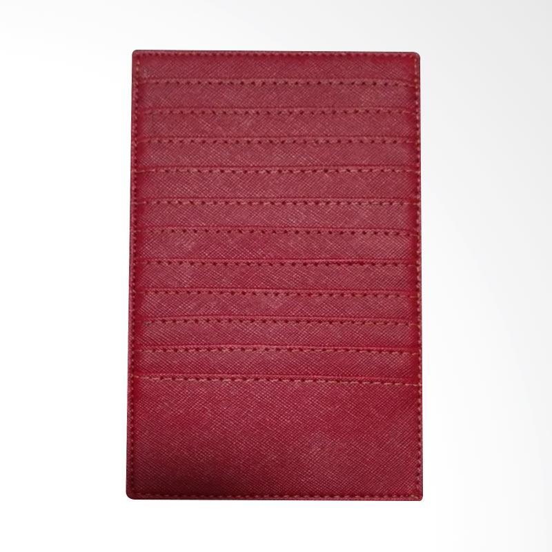 Garuda Shop Dompet Kartu Nama ATM KTP Card Holder Jumbo - Merah