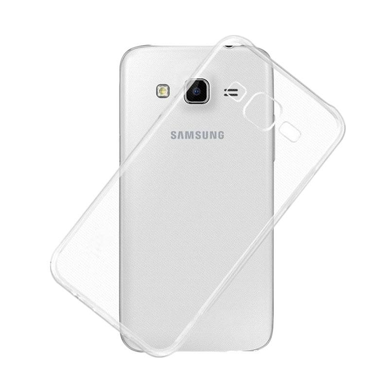 Ume Ultrathin Silicone Jellycase Softcase for Samsung Galaxy Grand 3 G7200 - Transparan