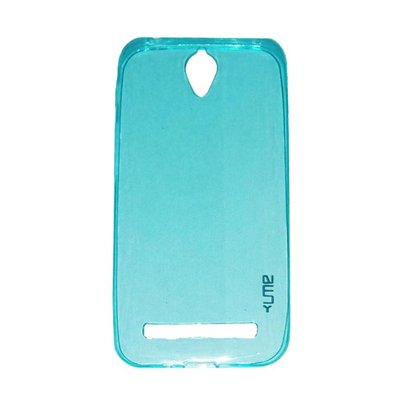 Ume Ultrathin Silicone Jelly Softcase Casing for Asus Zenfone Go ZC451TG 4.5 Inch - Biru