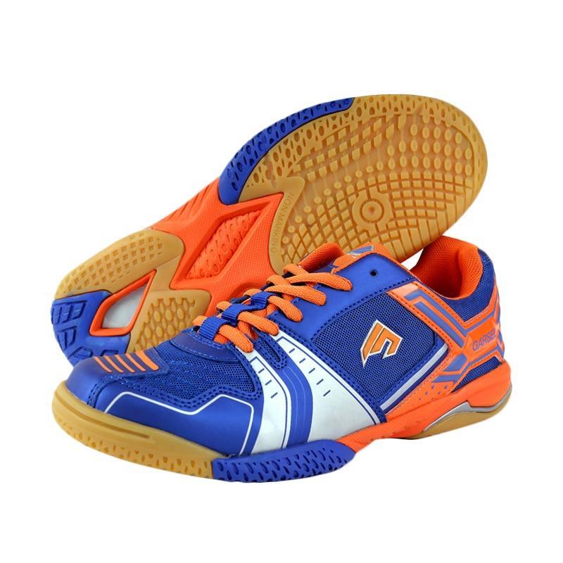 Garsel Sepatu Badminton Pria - Biru Kombinasi [GRE 7757]