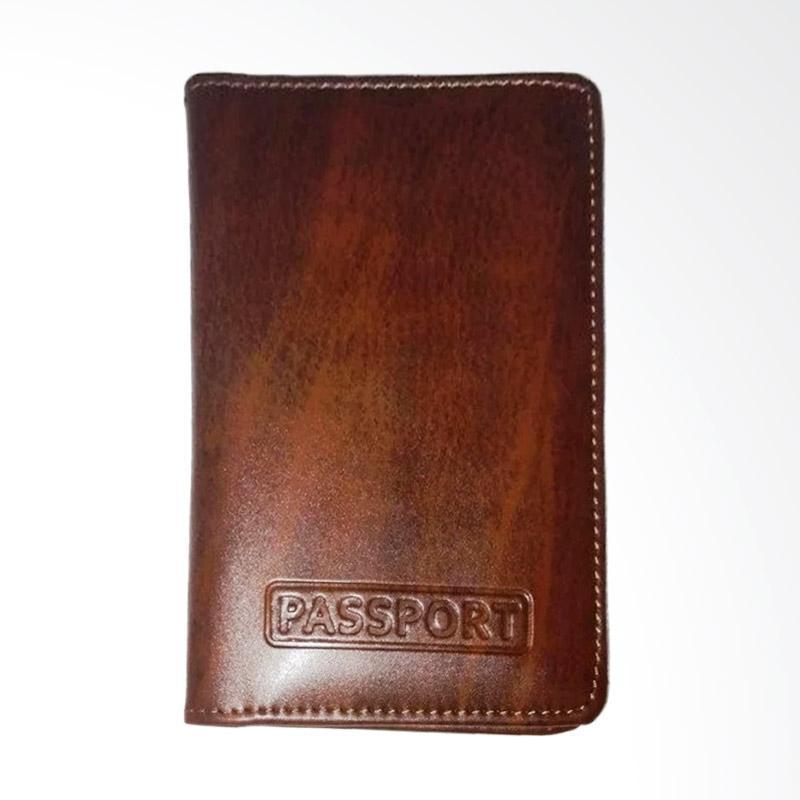 Garuda Shop Passport Cover Passport - Coklat 004