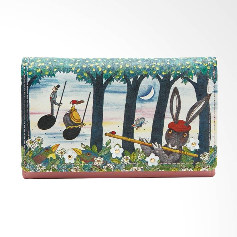 IPC Mansion Selected Jimmy Flute Rabbit Purse Dompet - Pink