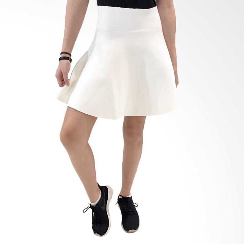 harga Qyrana Circle Skirt - White Blibli.com