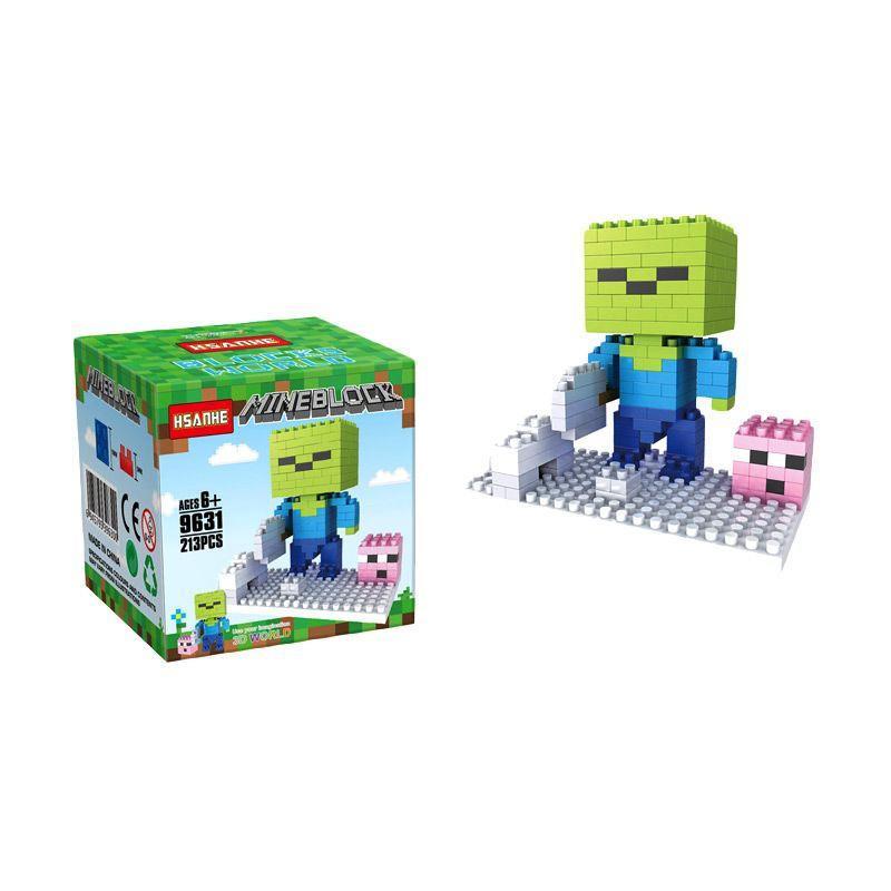 HSANHE 9631 Mainan Blok & Puzzle