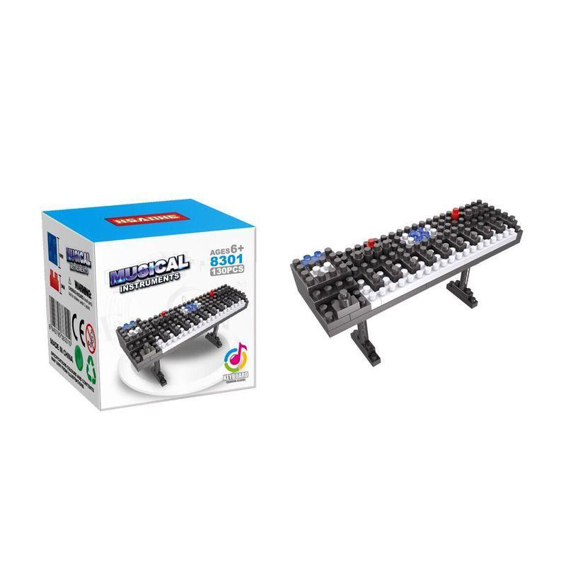HSANHE 8301 Keyboard Mainan Blok & Puzzle