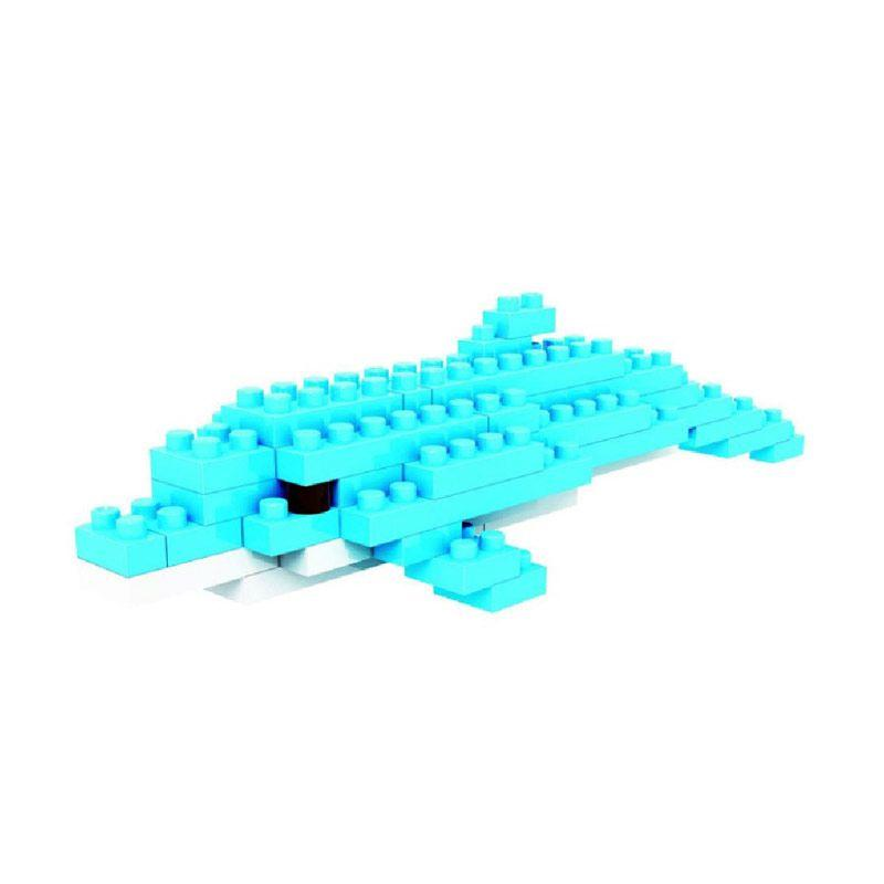 Loz Gift Small 9319 Dolphin Maian Blok & Puzzle