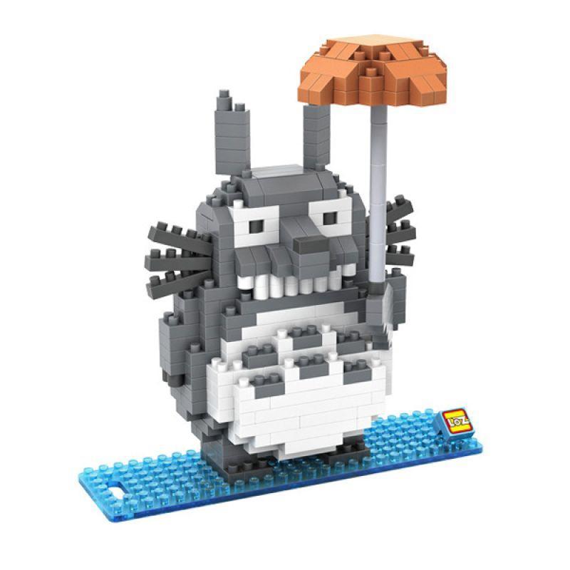 Loz Large Gift 9509 Totoro Mainan Blok & Puzzle